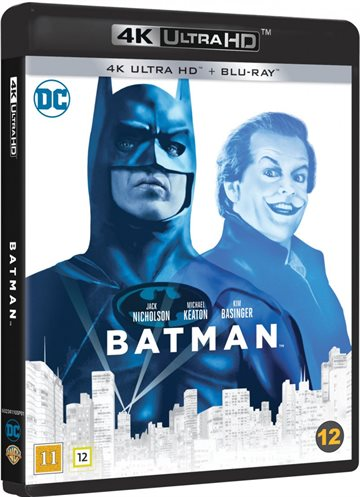 Batman 1989 - 4K Ultra HD Blu-Ray