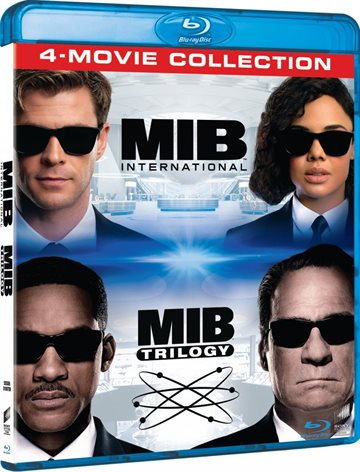 Men In Black 1-4 - Blu-Ray