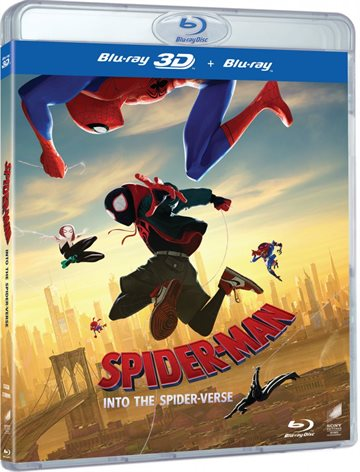 Spider-Man Into The Spider-Verse - 3D Blu-Ray
