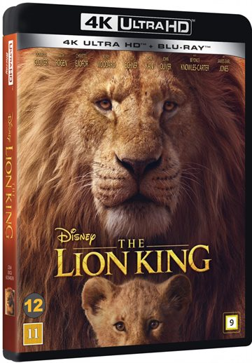 The Lion King - 2019 - 4K Ultra HD Blu-Ray