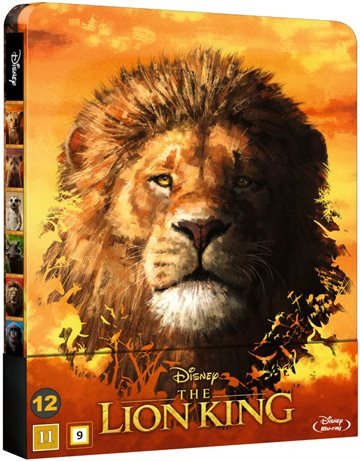 The Lion King - Steelbook Blu-Ray 2019