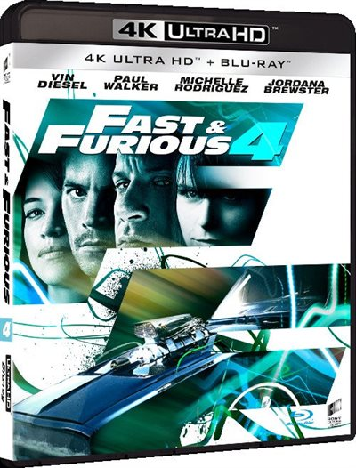 Fast & Furious 4 - 4K Ultra HD Blu-Ray