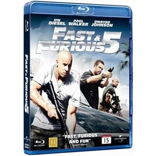 The Fast & The Furious 5 Blu-Ray