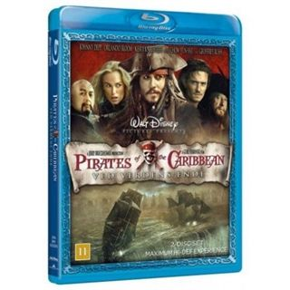 Pirates Of The Caribbean - Ved Verdens Ende Blu-Ray