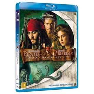 Pirates Of The Caribbean - Død Mands Kiste Blu-Ray
