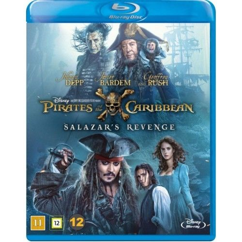 Pirates Of The Caribbean - Salazar\'s Revenge Blu-Ray