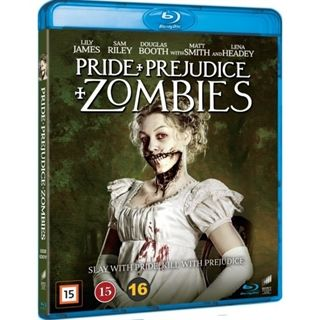 Pride And Prejudice And Zombies Blu-Ray