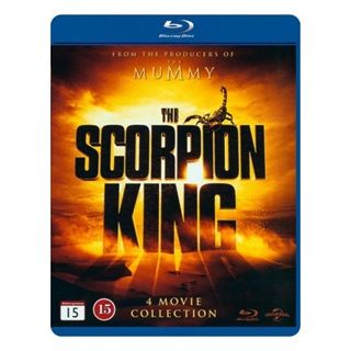Scorpion King 1-4 Blu-Ray Box