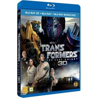 Transformers - The Last Knight 3D Blu-Ray