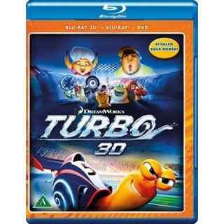 Turbo - 3D Blu-Ray