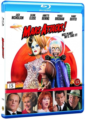 Mars Attacks ! - Blu-Ray