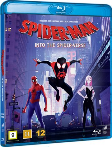 Spider-Man Into The Spider-Verse Blu-Ray